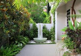 full image for trendy small backyard landscaping ideas back