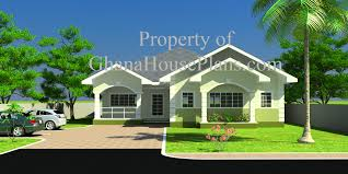 Ghana House Plans  Cece House Plan - Four bedroom house design