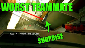 worst teammate ever rainbow six siege funny u0026 epic moments
