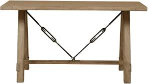flatbush brown sawhorse desk from samuel lawrence coleman furniture