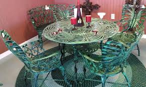 Patio Furniture Green by Statue Esque Aluminum Patio Furniture