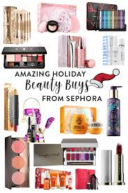 holiday beauty buys from sephora hairspray and highheels