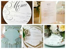 idã e menu mariage et voici le menu présenté avec originalité