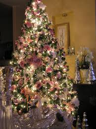 Silver Christmas Tree Baubles - people use flowers to decorate their christmas trees and it u0027s