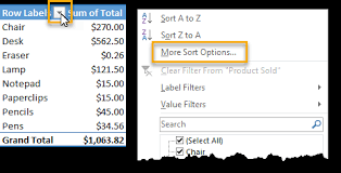 Sort A Pivot Table 101 Advanced Pivot Table Tips And Tricks You Need To Know How To