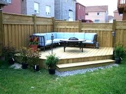 Landscaping Ideas For Small Backyard Small Backyard Landscape Design Kakteenwelt Info