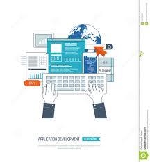 Free Floor Plan Applications Application Development Concept For E Business Web Sites Mobile