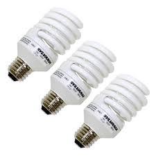 23 volt 3 watt light bulbs sylvania 26352 twist medium base compact fluorescent light