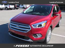 Ford Escape Accessories - 2018 new ford escape titanium 4wd at landers serving little rock