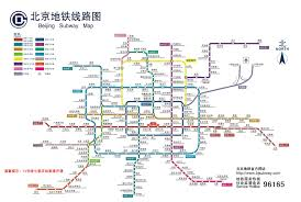 Beijing Subway Map by Venue Location