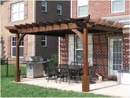Covered Patio Designs Design Ideas Backyard Arbor And Attached by Pergola Diy Pergola Plans Awesome Construction Design Gray