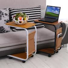 Laptop Sofa Desk Simple Sofa Laptop Desk With Wheels To Facilitate Small Desk Desk