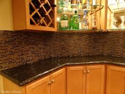 dimples and tangles how to cover an ugly kitchen backsplash way