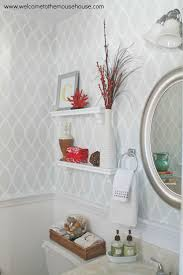 wallpaper bathroom designs 8 best powder room ideas images on pinterest