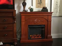 sei florentine electric fireplace mahogany bj u0027s wholesale club