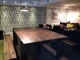 dark wood dining room tables coffee table reclaimed dark wood dining table and chairs seattle