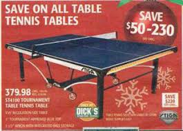 black friday ping pong table deals black friday deal stiga master series st4100 indoor table tennis table