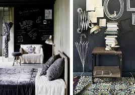 Chambre Mur Et Noir Peinture Pour Tableau Noir Idee Mur Deco Chambre Entree Avec En