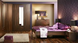 Bedroom Impressive Mahogany Bedroom Wall Units With Mirror Also - Bedroom furniture wall unit