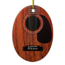 acoustic guitar ornaments keepsake ornaments zazzle