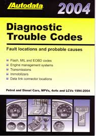 autodata diagnostic trouble codes fault locations and probable caus u2026