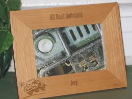 jeep wood box jeep picture frame personalized frame laser engraved jeep