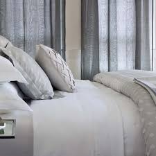 Catherine Lansfield Duvet Covers Silver Duvet Covers Donna Karan Home Reflection Silver Duvet