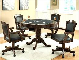 dining chairs with casters dining room chairs on casters dining
