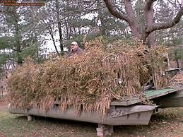Duck Boat Blind Pictures Boat Blinds Michigan Sportsman Online Michigan Hunting And