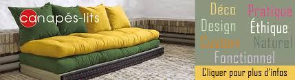 canapé lit futon canapés lits futon azur