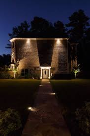 Landscape Lighting Atlanta - night vision exterior traditional with up lighting atlanta door