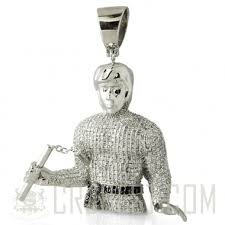 custom silver pendants premium hip hop jewelry c r e a m bruce custom pendant