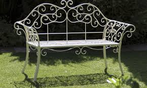 Antique Metal Glider Bench Valuable Black Metal Patio Bench Excellent Folding Metal