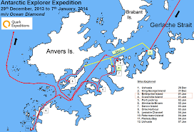 Antartica Map Antarctic Explorer Day 4 Enterprise U0026 Cuverville Island
