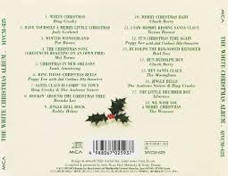 crosby christmas album the white christmas album various artists songs reviews