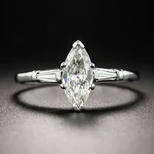 marquise diamond engagement ring mid century 55 carat marquise diamond engagement ring