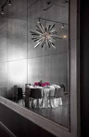 private dining room interior design of sepia restaurant chicago