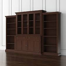 Office Bookcases With Doors Bookcases With Doors Crate And Barrel
