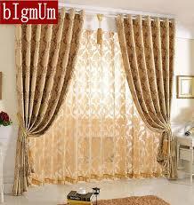 rideaux pour chambre jacquard floral rideaux pour chambre salon blackout motif