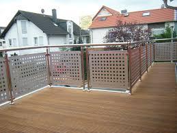 balkon lochblech balkongelander edelstahl sichtschutz speyeder net verschiedene