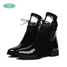 womens motorcycle boots 36 43 women boots genuine leather flat martin ankle boots womens