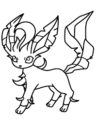 great leafeon coloring pages 61 on coloring books with leafeon