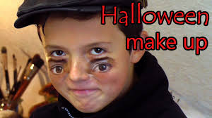 halloween eyes makeup dad teams up with son for a scary