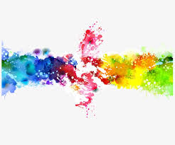 colorful watercolor background vector material gorgeous
