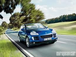 Porsche Cayenne Years - 2010 porsche cayenne diesel and hybrid s models european car