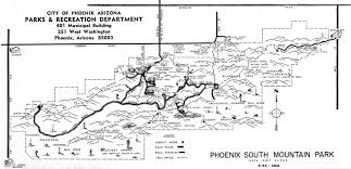 Phoenix Area Code Map by South Mountain Maps Through Time Mtbikeaz Com