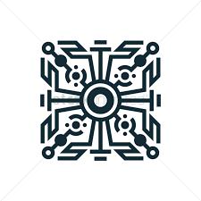 geometric tattoo design vector image 1443577 stockunlimited