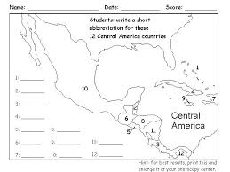 11 best geography images on geography central america