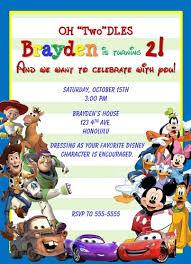 free disney birthday invitation u2013 orderecigsjuice info