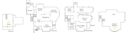 Manor House Floor Plan Halliwell Manor Floor Plan By Notsalony On Deviantart